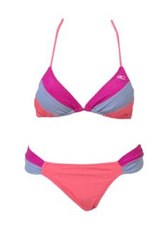 ONeill Bandeau Bikini Top Size 18 B Cup UK Pink £29.99