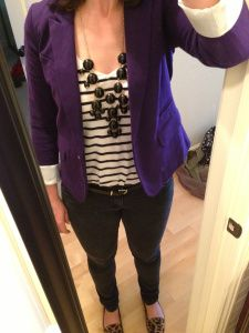 Purple Blazer | Blazer Looks I Love | Pinterest | Purple blazers ...