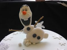 Olaf frozen cake topper