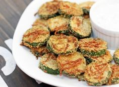 Mmm fried zucchini with parm cheese
