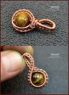- how to make own jewelry by looking at pictures for inspiration - Jewelry Handmade Wire Jewelry, Wire Jewelry Designs, Copper Jewelry, Handmade Copper, Copper Wire, Wire Pendant, Wire Wrapped Pendant, Wire Wrapped Jewelry, Pendant Jewelry