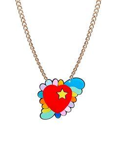 tatty devine heart necklace