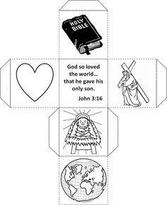 A John 3:16 Craft for Kids