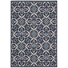 Shop for Rug Squared Jupiter Indoor/Outdoor Navy Rug (7'10 x 10'6). Get free shipping at Overstock.com - Your Online Home Decor Outlet Store! Get 5% in rewards with Club O!