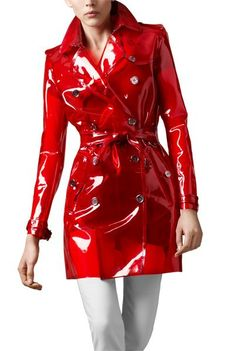 PVC női dzseki | Vinyl clothing, Shiny jacket, Rainwear fashion