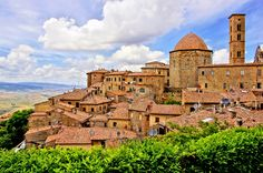 Volterra is somewhat like a womb of history...