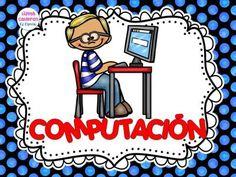 Carteles Rutinas de Trabajo en el aula (10) Computer Lab Lessons, Computer Lab Classroom, Computer Class, Classroom Door, Classroom Organization, School Clipart, School Subjects, School Pictures, Teacher Hacks