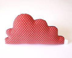 Shweshwe Cloud Cushion Handmade for by TheFoxintheAttic on Etsy