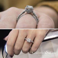 Make your world sparkle. Shop this diamond engagement ring by clicking the link in our bio. . . . . . #GabrielNY #GabrielAndCo #NewYorkCity #EngagementRing #Bridal #NewYork #NYC #LoveYou #Tulips #BrideToBe #BridetoBride #Diamonds #Love #Ring #TrueLove #MustHave #DreamWedding #WeddingInspiration #Glamour #Heart #love #anniversary #design #jewelry #whitegold #diamond #ringgoals Style #: ER12951