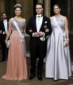 King Carl XVI Gustaf of Sweden and Queen Silvia of Sweden held their first official dinner of the year at the Royal Palace on February 11, 2015. (Invited are representatives from the diplomatic corps, parliament, government, government agencies, science, sport, business, culture and persons the Royal Family met when traveling. The guests were received and welcomed by the King and Queen, Crown Princess Victoria, Prince Daniel, Prince Carl Philip, Sofia Hellqvist and Princess Madeleine in the…