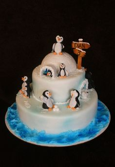 Penguin Cake - Cute!