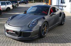 Vollverklebung in NRW Kempen Cam Shaft Premium Wrapping Porsche 991 GT3 RS matt-grau-metallic 991 gt3 - Google zoeken