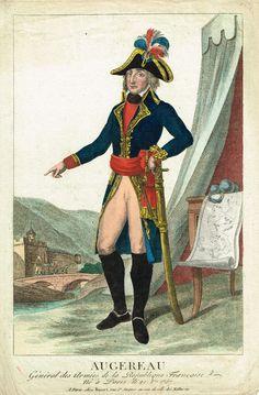 Charles Pierre François Augereau, né le 21 octobre 1757 à Paris et mort le 12 juin 1816 à La Houssaye-en-Brie (Seine-et-Marne), est un général français puis maréchal d'Empire et duc de Castiglione. Brillant divisionnaire pendant la première campagne d'Italie, Augereau déçoit Napoléon durant les guerres napoléoniennes de par son attitude aussi bien au combat qu'envers la personne de l'Empereur.