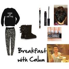 """""""Breakfast with Calum"""" by bandslove on Polyvore 5sos Inspired Outfits, 5sos Outfits, New Outfits, Cute Outfits, 5sos Preferences, Chloe Clothing, Calum Hood, Band Merch, 5 Seconds Of Summer"""