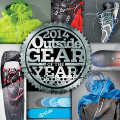 Outside Magazine's Winter Gear of the Year. Makes a great holiday gift for you or a friend.