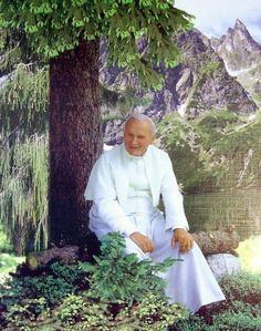 John Paul II, Facebook page