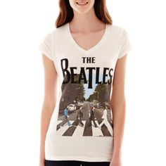 New World Short-Sleeve Beatles Graphic T-Shirt  found at @JCPenney