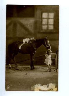 I hope my little girls aren't allergic to horses like I am.