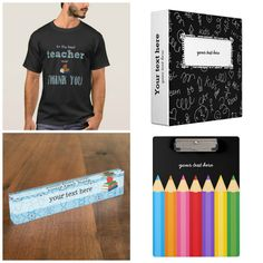 #teacherappreciationweek #teachergiftidea #giftidea Feel free to browse at my #zazzle store. Available in different products. Check more designs at www.zazzle.com/celebrationideas & www.zazzle.com/graphicdesign  #tshirts #binder #nameplate #clipboard and lots of more at store.