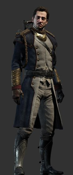 Marquis de Lafayette - Sir Galahads friend and the smartest member of the team - Heroes - The Order: 1886 (coming soon) - Game Guide and Walkthrough