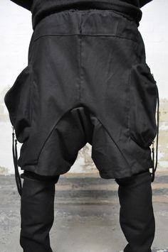 Tweed Pants, Trousers, Black Style, Style Me, Men's Vintage, Put On, Parachute Pants, Men's Fashion, Menswear