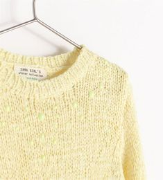 Zara Sweater with Detailing On The Neck in Yellow (Pastel yellow) Yellow Aesthetic Pastel, Pastel Yellow, Shades Of Yellow, Mellow Yellow, Farm Clothes, Yellow Clothes, Pastel Fashion, Yellow Sweater, Sweater Weather
