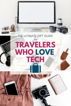 Travel gadget gifts for everyone on your travel list! Looking to upgrade your ca… Travel gadget gifts for everyone on
