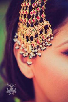 Gorgeous jhoomer #wedmegood #jhoomer #passa