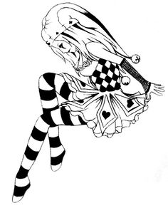 Jester by ~brini1994 on deviantART