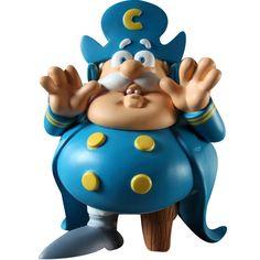 Fat Cap'n Cornstarch Figure - Ron English (blue) CAPNCORNBLU - $59.99