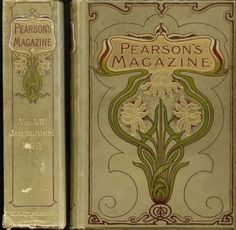 thevintaquarian:    indigodreams: 1899 Cover used for collected volume of Pearson's Magazine