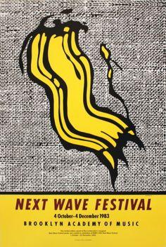 Next Wave Festival Print by Roy Lichtenstein at Art.com