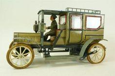 1920s Carrette Limo Tin Wind Up Touring Car w Driver Passengers German Marklin | eBay
