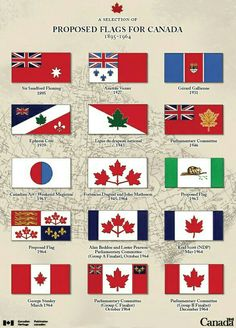 Proposed Canadian flags