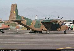 Zimbabwe Air Force Casa C212 transport aircraft.