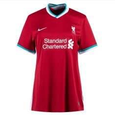 Liverpool 20/21 Home Women Soccer Jersey Personalized Name and Number – zorrojersey Of Brand, Liverpool, Polo Ralph Lauren, Soccer, 21st, Names, Mens Tops, Futbol, European Football