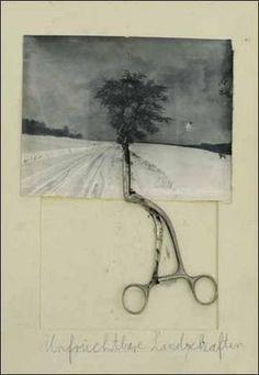 Don't Miss – Paris: Anselm Kiefer 'Unfruchtbare Landschaften' at Yvon Lambert through June 2010 Anselm Kiefer, Collages, Mixed Media Collage, Collage Art, Musée Rodin, Edward Hopper, Assemblage Art, Art Plastique, Oeuvre D'art