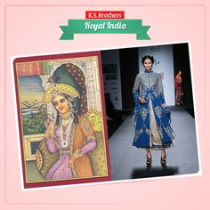 History of #Jacket dress :) It seems the Mughals have put huge influence on the Indian dressing style. Empress Mumtaz Mahal, consort of Shah Jahan, was the epitome of beauty just like her mother-in-law Nur Jehan. The beautiful Empress was well aware of her fashion sensibilities, that is evident from her numerous paintings that stand witness to her dressing sense. (Image copyrights belong to their respective owners)