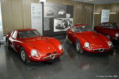 Alfa Romeo Giulia TZ2 & TZ1
