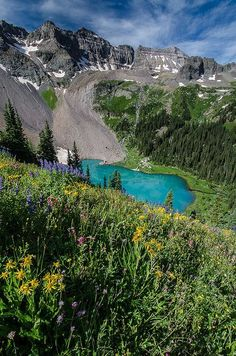 Blue Lake, Colorado- went hiking/backpacking here before. This world is really awesome. The woman who make our chocolate think you're awesome, too. Please consider ordering some Peruvian Chocolate today! Fast shipping! http://www.amazon.com/gp/product/B00725K254 #TravelDestinationsUsaColorado