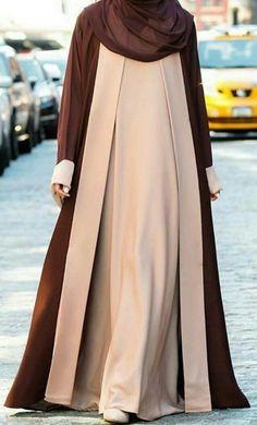 Abaya Fashion, Modest Fashion, Fashion Outfits, Mode Abaya, Mode Hijab, Hijab Style, Hijab Chic, Moslem Fashion, Abaya Designs