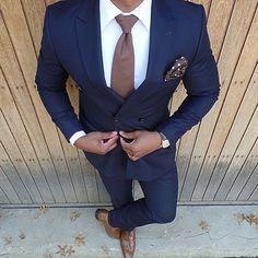 Nur nicht die breite Krawatte :D