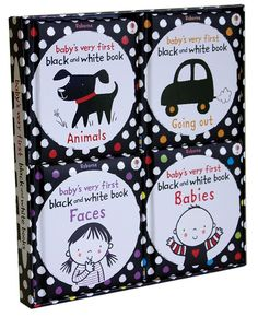 Baby's Very First Black and White Tray. Perfect baby shower gift! $20.99
