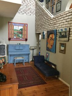 Entrance Hall makeover using chalk paint on face brick ‹ Vintage Eclectic — WordPress.com