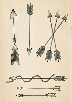 A few Arrow tattoo designs