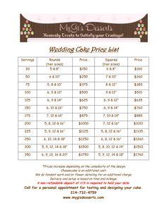wedding cakes price list yahoo image search results