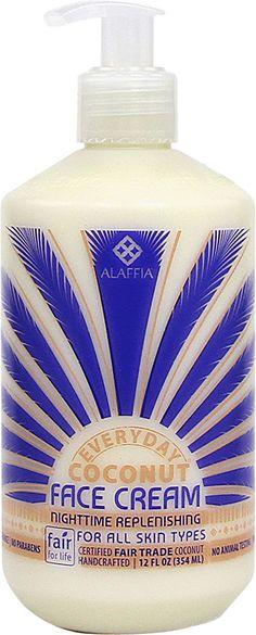 Alaffia Everyday Coconut Night Face Cream