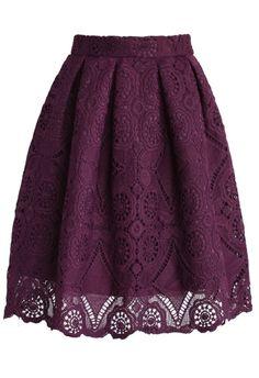 Великолепная кружевная юбка по Raelynn8