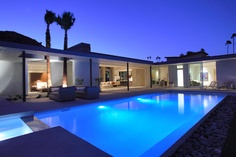 Palm Springs Architecture: desert luxe