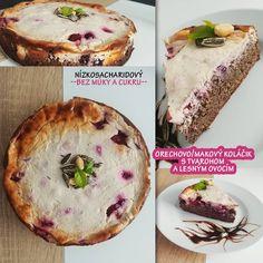 """--Chutne & Fit s Domi-- on Instagram: """"💜Orechovo - makový koláč s tvarohom a lesným ovocím (nízkosacharidový - LOWCARB (LC)💜 Zatiaľ najlepší, čo sa týka LC dezertov.💋 Kto…"""""""